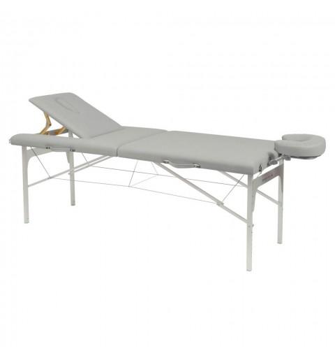 Camilla plegable de patas de aluminio 70x182 REF. C-3410-M61