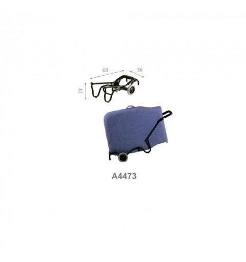 Carrito portacamillas plegables Ref: A4473