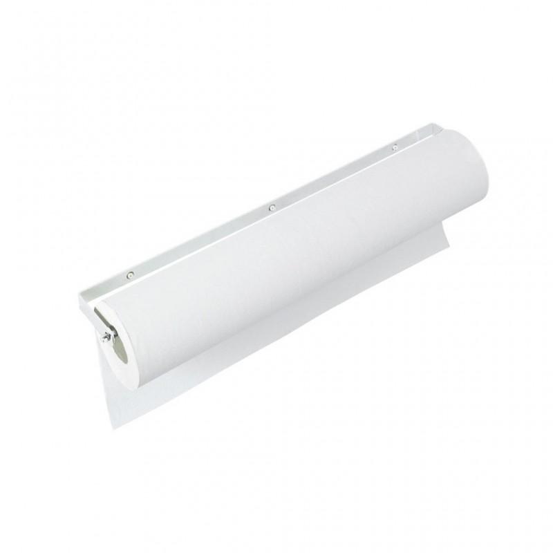 Portarrollos blanco atornillado Ref: A4402B