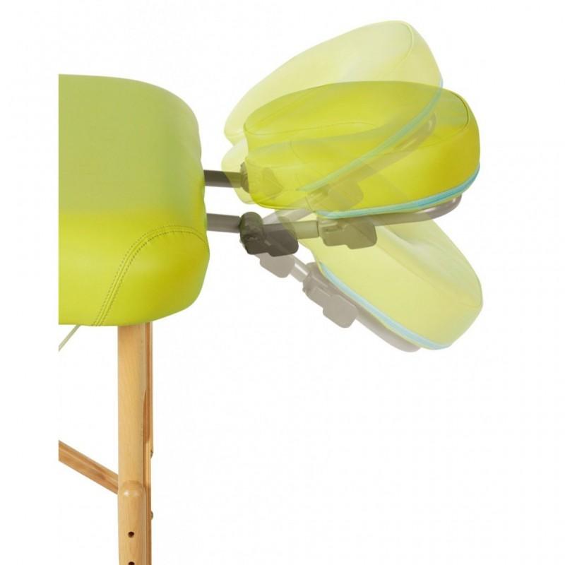 Cabezal articulado para camillas plegables Ref: A4430