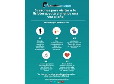 5 grandes razones por las que visitar a tu fisioterapeuta |Tienda Online Fisiotema.com